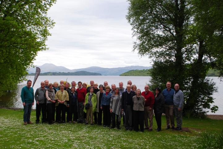 Mendelssohn in Scotland tour at Loch Lomond, May 2016