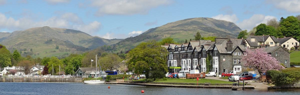 Waterside Hotel in Ambleside, Lake District